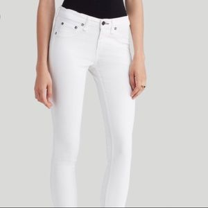 Rag & Bone Skinny Legging Bright White - 28